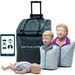 SET MANICHINI BLS RCP LITTLE FAMILY PACK QCPR con valigia da trasporto